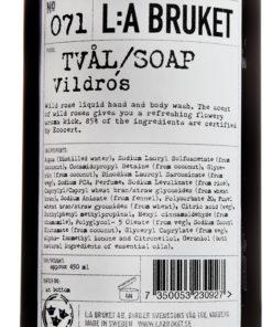 Nr 071 Flytande tvål Vildros 450 ml