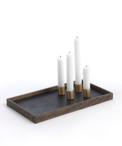 The Oak Men -  Candle tray de luxe