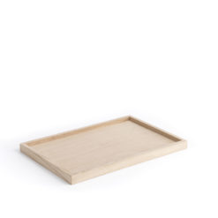 The Oak Men-  Square Tray Medium Oak