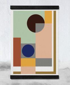 STiicks Magnetisk Plakat-ramme 53 cm - Black