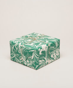 "Papir ""Fantasy"" marmor grønn, Esme Winter"