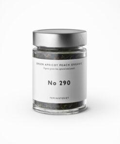 Teministeriet 290 Green Apricot Peach Organic Jar