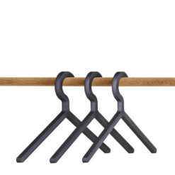 WOUD Illusion hanger black 3-pk