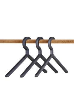 WOUD Illusion hanger black 3-pk