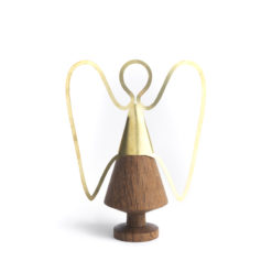 The Oak Men - Kirsten - Angel, brass, dark oak