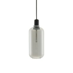 Normann CPH Amp Lamp Smoke/Black Large