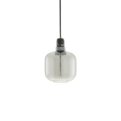 Normann CPH Amp Lamp Smoke/Black Small