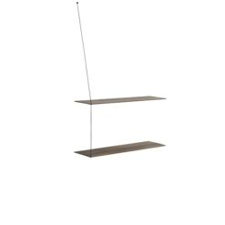 WOUD Stedge shelves 2 hyller smoked oak