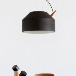 Reeno lampe, Large Black - Omelette-ed