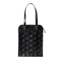 Big Shoulder Bag Black - Eduards Accessories