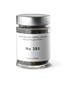 Teministeriet 285 Green Ginger Lemon Organic Jar