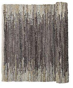 Weave teppe skinn grå/brun 90 x 60 Broste CPH