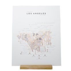Los Angeles Poster 41 x 51 - 42 Pressed