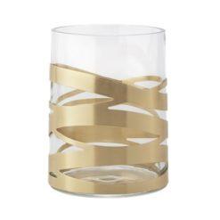 Tangle vase 12x16,5 cm medium messing Stelton