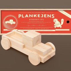 Plankelastebil - Plankejens