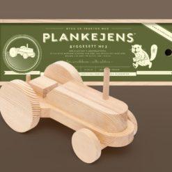 Planketraktor - Plankejens