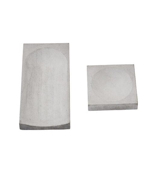 Concrete Trays 2 pieces - Kristina Dam Studio