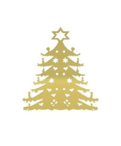 Cooee Amercian Christmas Tree 28 cm brass