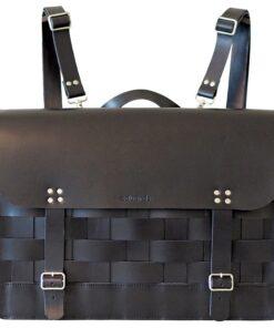 Näver Backpack / Shoulder Bag Black - Eduards Accessories
