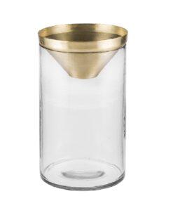 Botanical Vase large brass - Zakkia