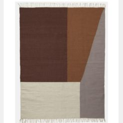 Kelim Rug - Borders large - ferm LIVING