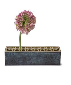 Klong - Äng rektangulær vase