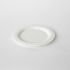 Plate small White - Kajsa Cramer