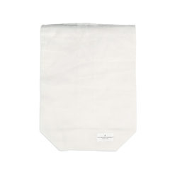Food Bag White large - The Organic Company