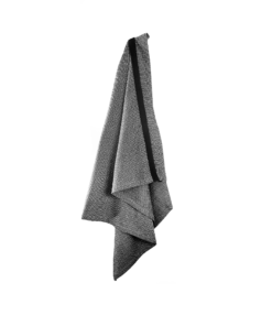 Wellness Towel Dark grey - The Organic Company