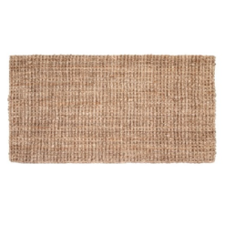 Doormat Jute Natural grey 90x60 - Dixie