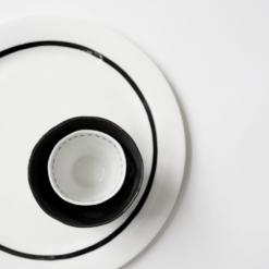 Plate Big Stripes - Kajsa Cramer