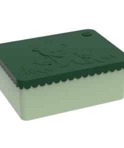 Blafre Matboks Bjørn treroms mørekegrønn plast