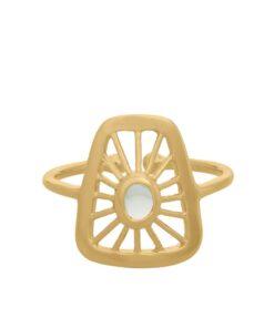 Thilde Ring small forgylt - Pernille Corydon
