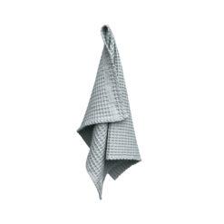 Big Waffel Hand Towel Dark Sky - The Organic Company