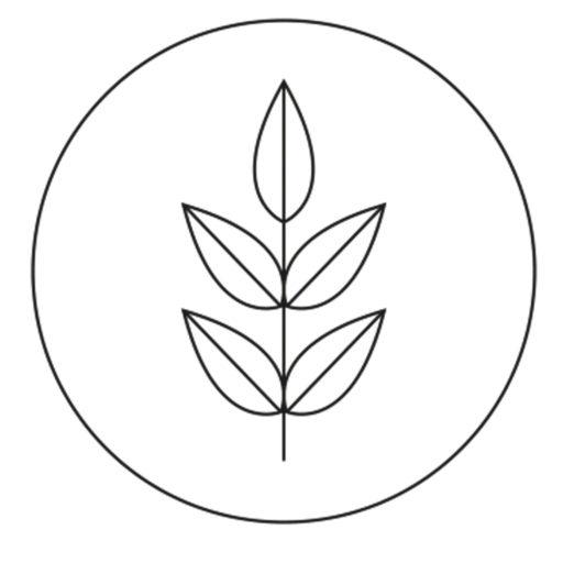 korn interiør logo sand